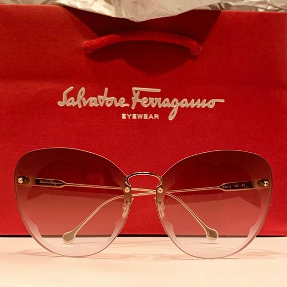 Salvatore Ferragamo Accessories Ferragamo Sunglasses Sf78s Fiorein Brown Poshmark